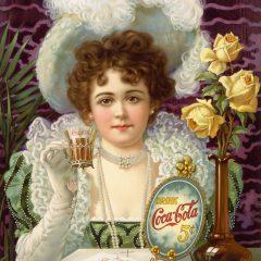 Coca-cola advertisement, 1890s